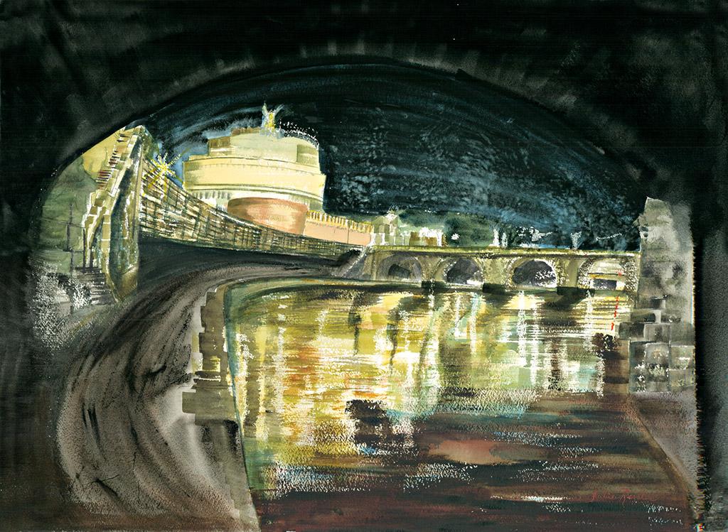 Ponte San Angelo, Rome Italy