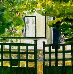 Le Portail de Les Lauriers - The Gate at Les Lauriers, Senonches, France