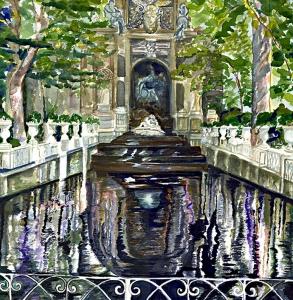 Medici Fountain, Paris
