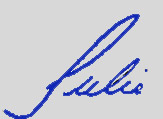 Julie-only-Blue-Signature