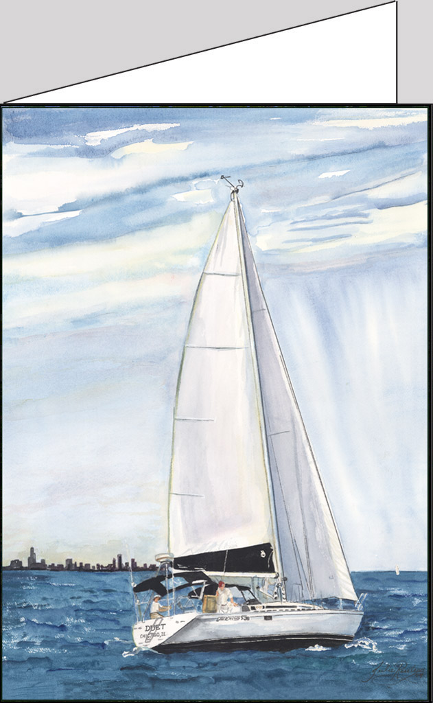 Duet-sailing-Lake-Michigan-Chicago